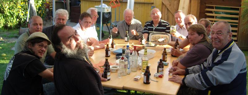 Bild vom Herrentreffen am 18.9.2009